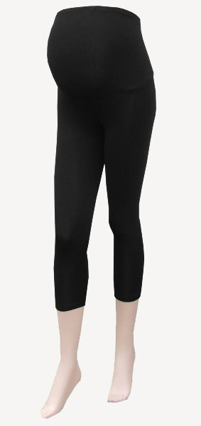3/4 Maternity Leggings black