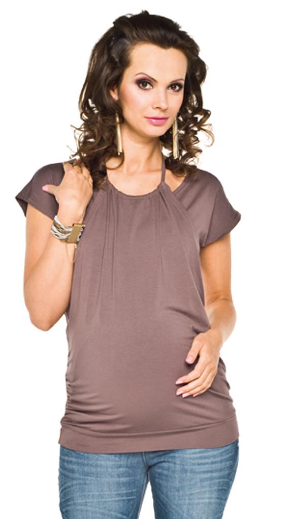 "Torelle Maternity Top ""Zara"" Brown"