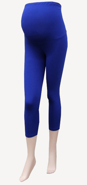 3/4 maternity Leggings Cornflower