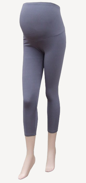 3/4 Maternity Leggings gray