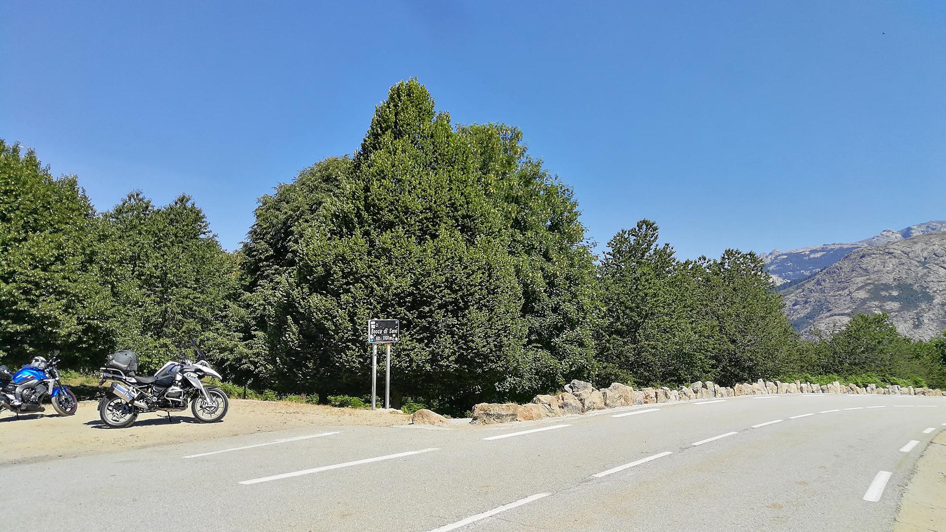 1101 - F (Corse) - Col de Sevi (Bocca di Sevi)