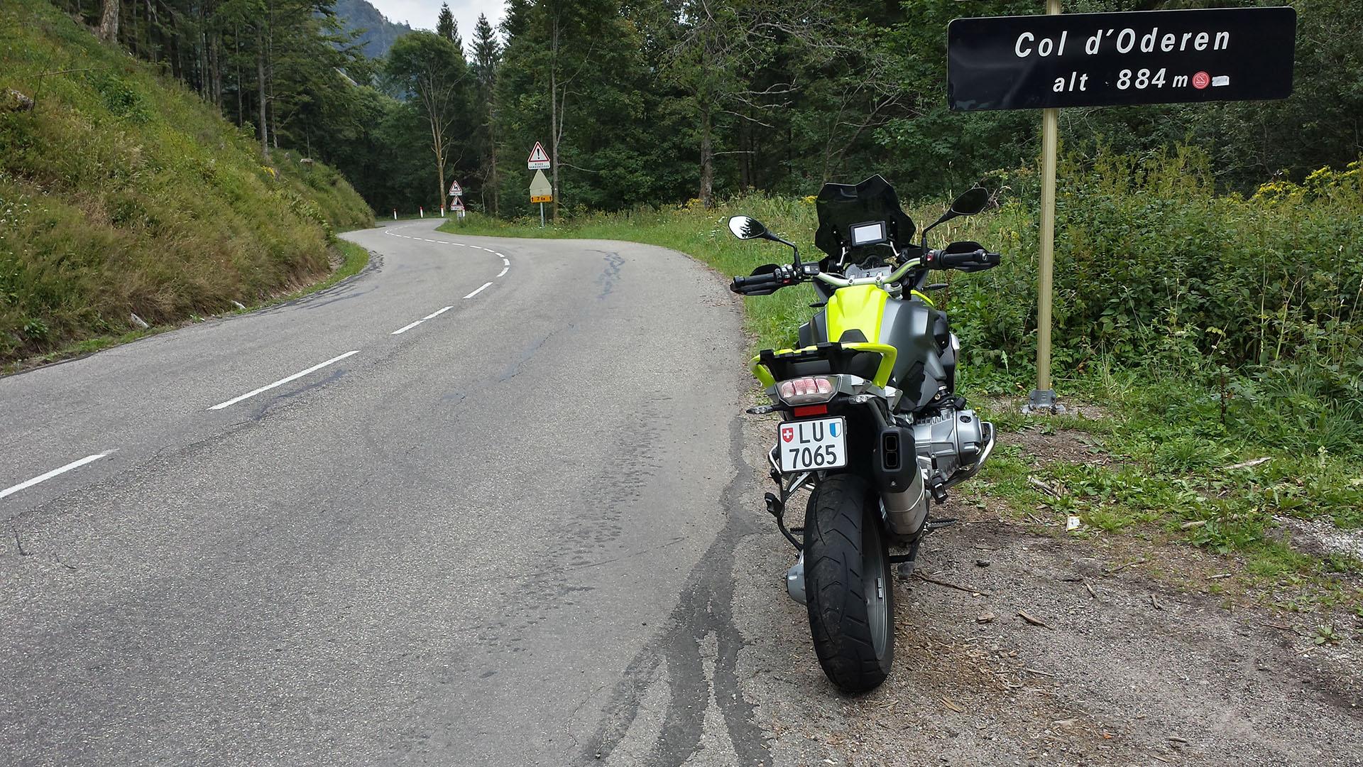 0884 - F - Col d'Oderen