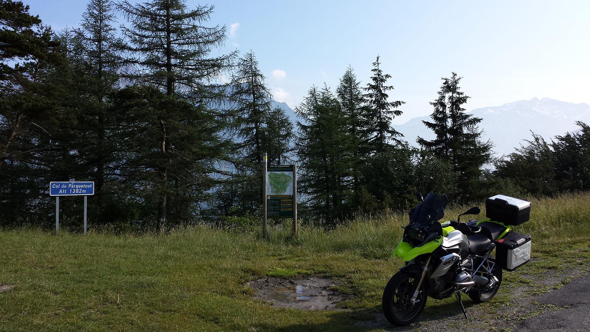 1382 - F - Col de Parquetout
