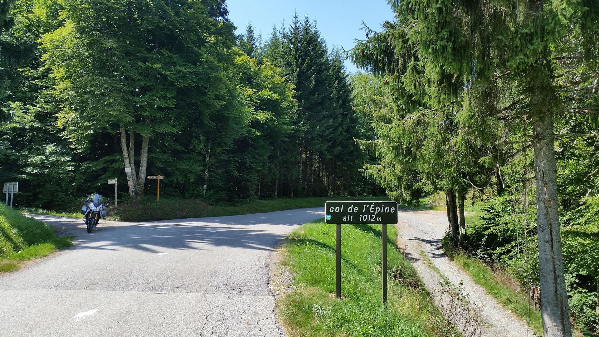 0947 - F - Col de l'Épine (Tafel falsch)