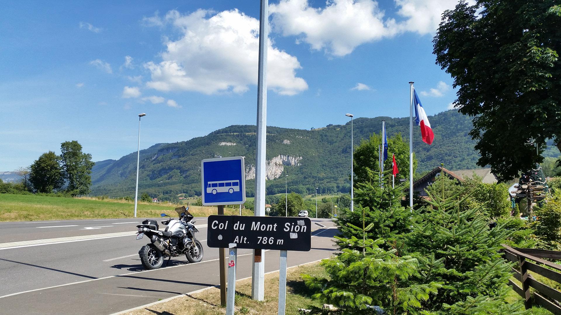 0786 - F - Col du Mont Sion