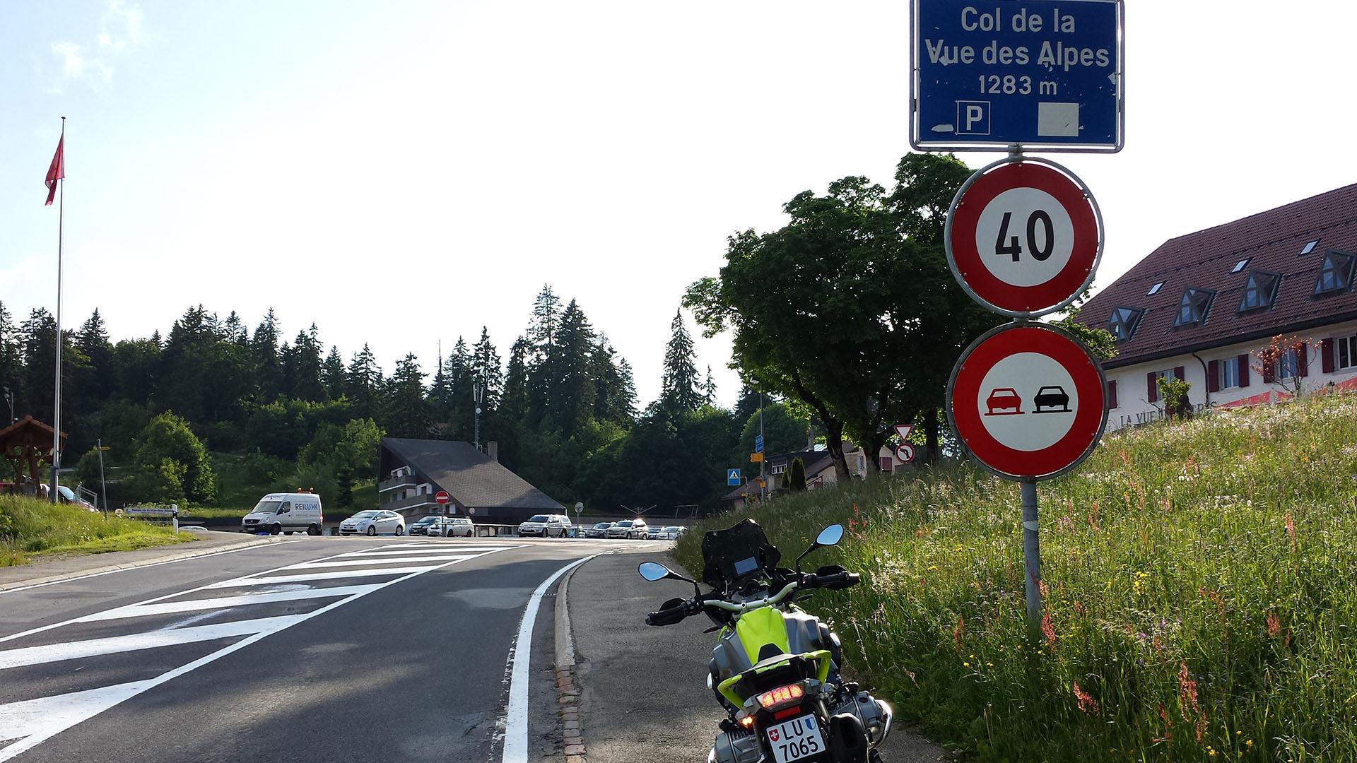 1283 - CH - Col de la Vue des Alpes