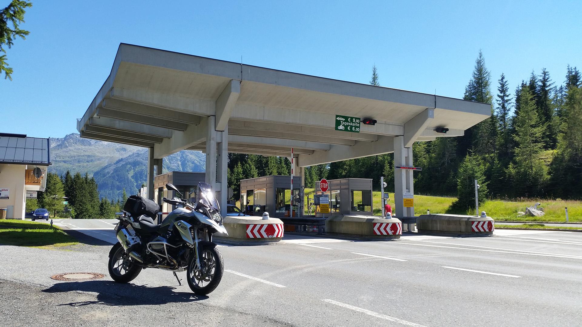 1628 - A - Gerlos-Pass (Alpenstrasse Mautstelle Hochkrimml)