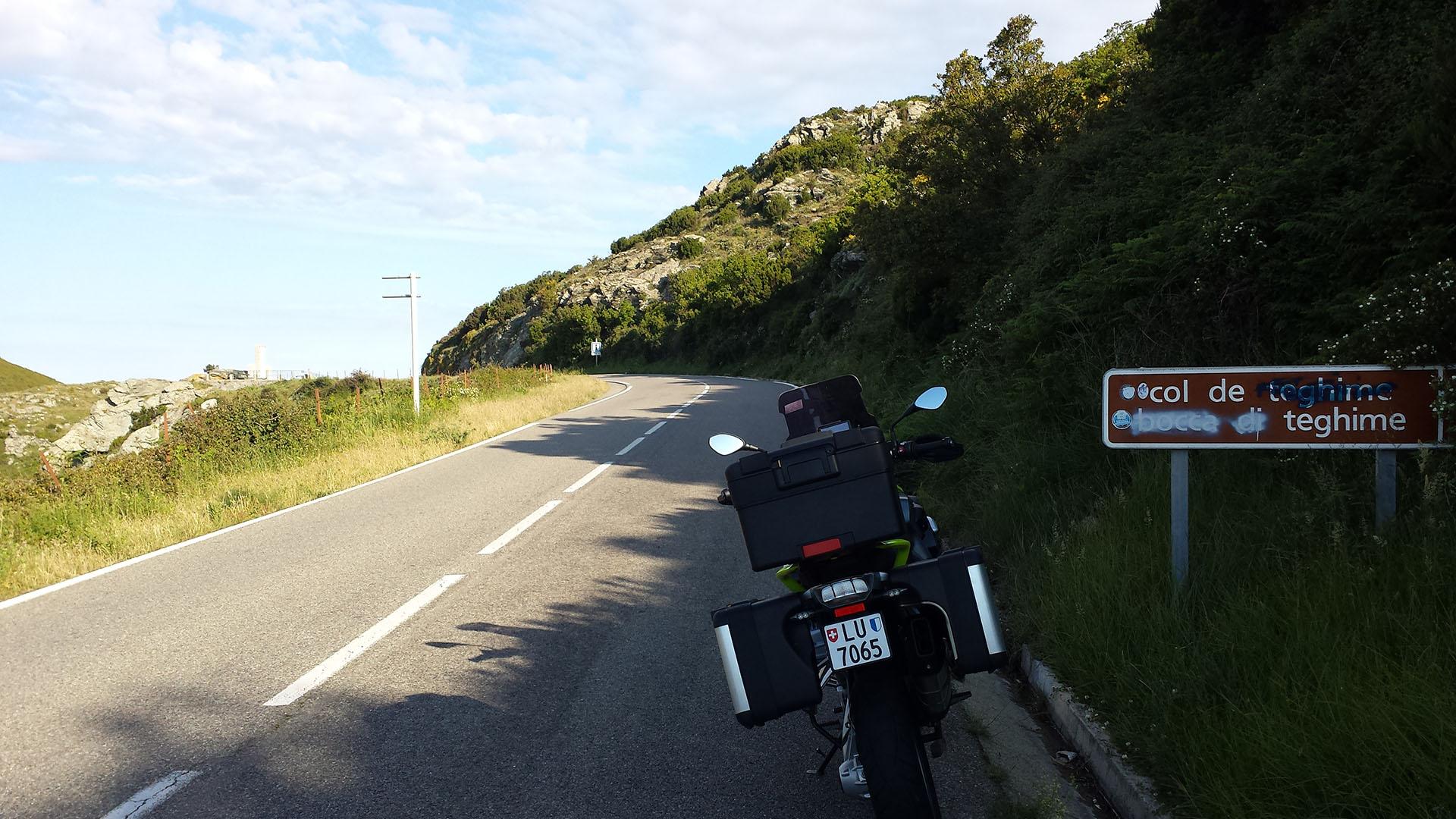 0536 - F (Corse) - Col de Teghime (Bocca di Teghime)