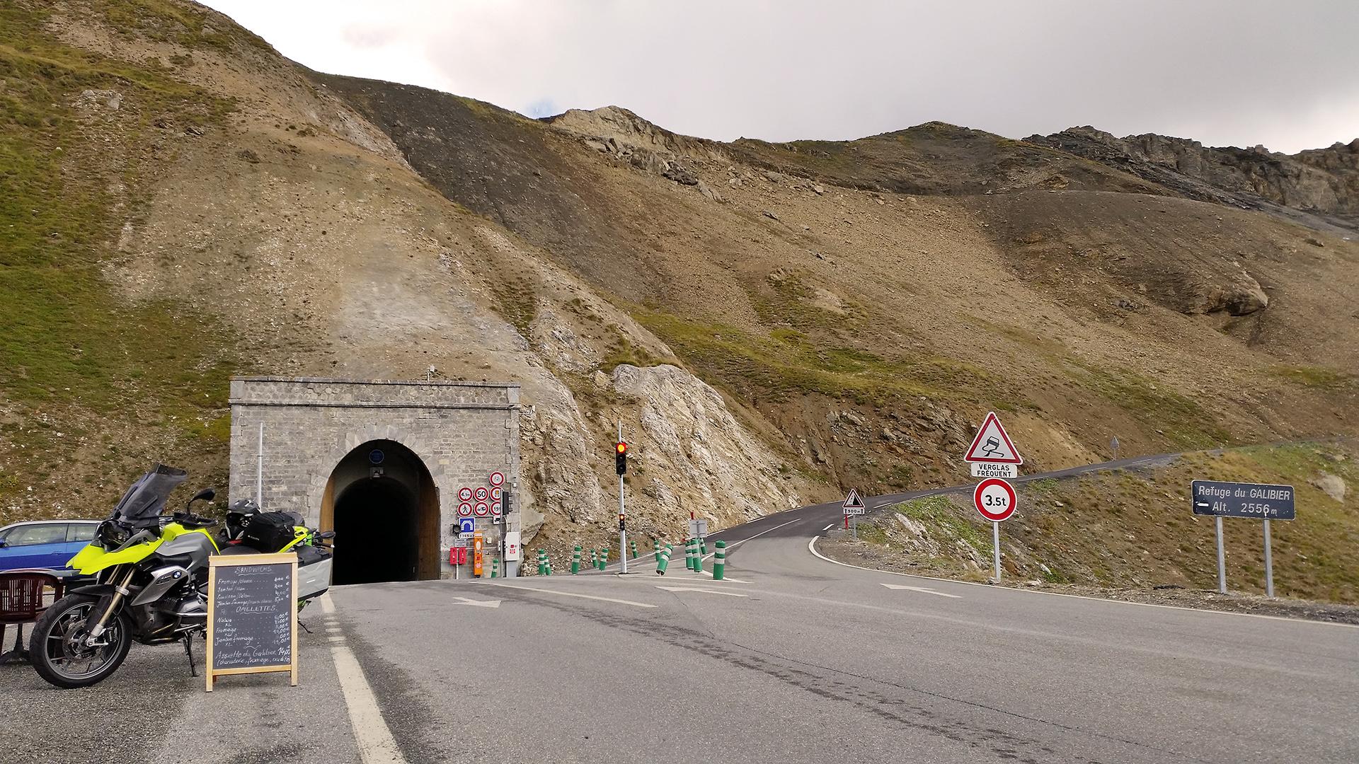 Tunnel du Galibier (Col du Galibier) © Pässe.Info