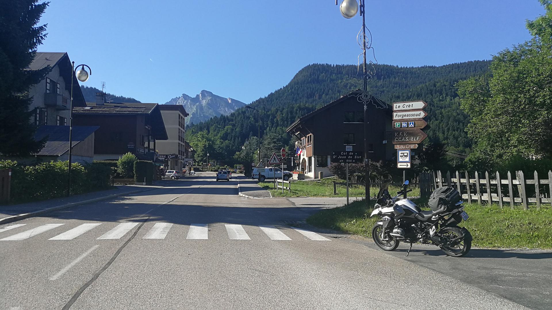 0956 - F - Col de Saint-Jean-de-Sixt