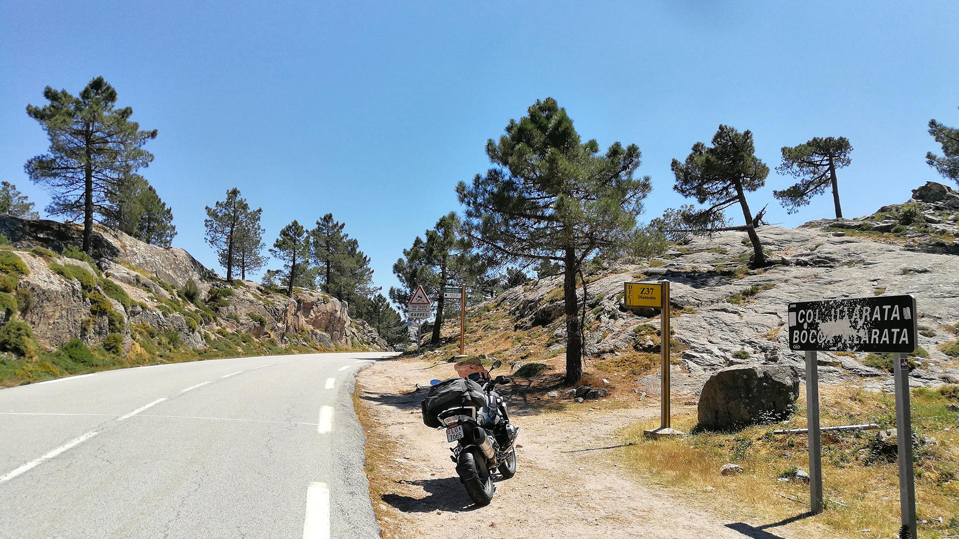 0992 - F (Corse) - Col Illarata (Bocca Illarata)