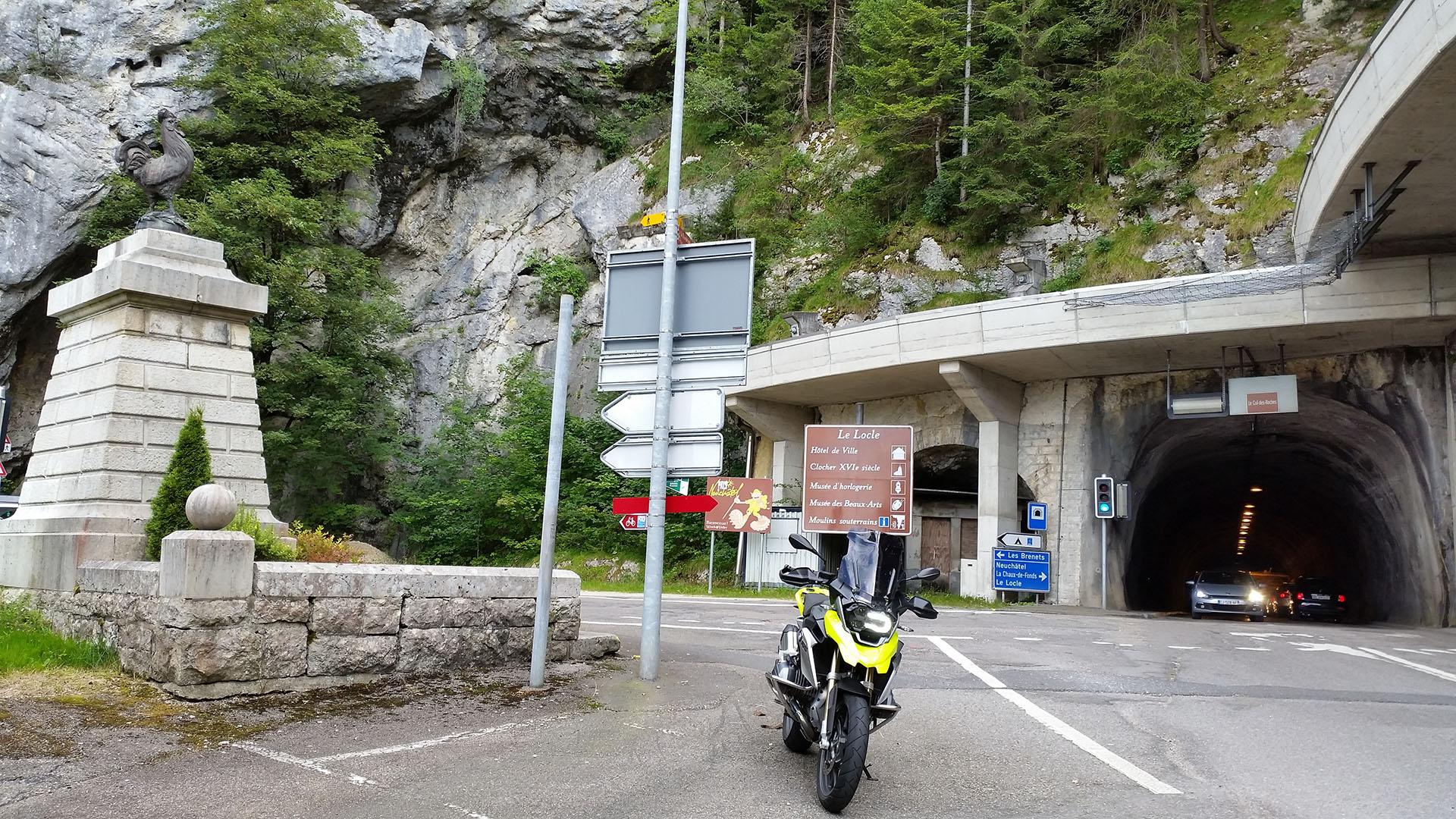 0919 - CH-F - Col des Roches