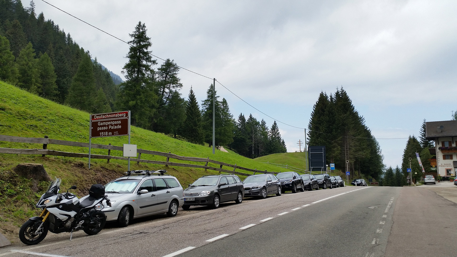 1518 - I - Gampen-Pass (Passo Palade)
