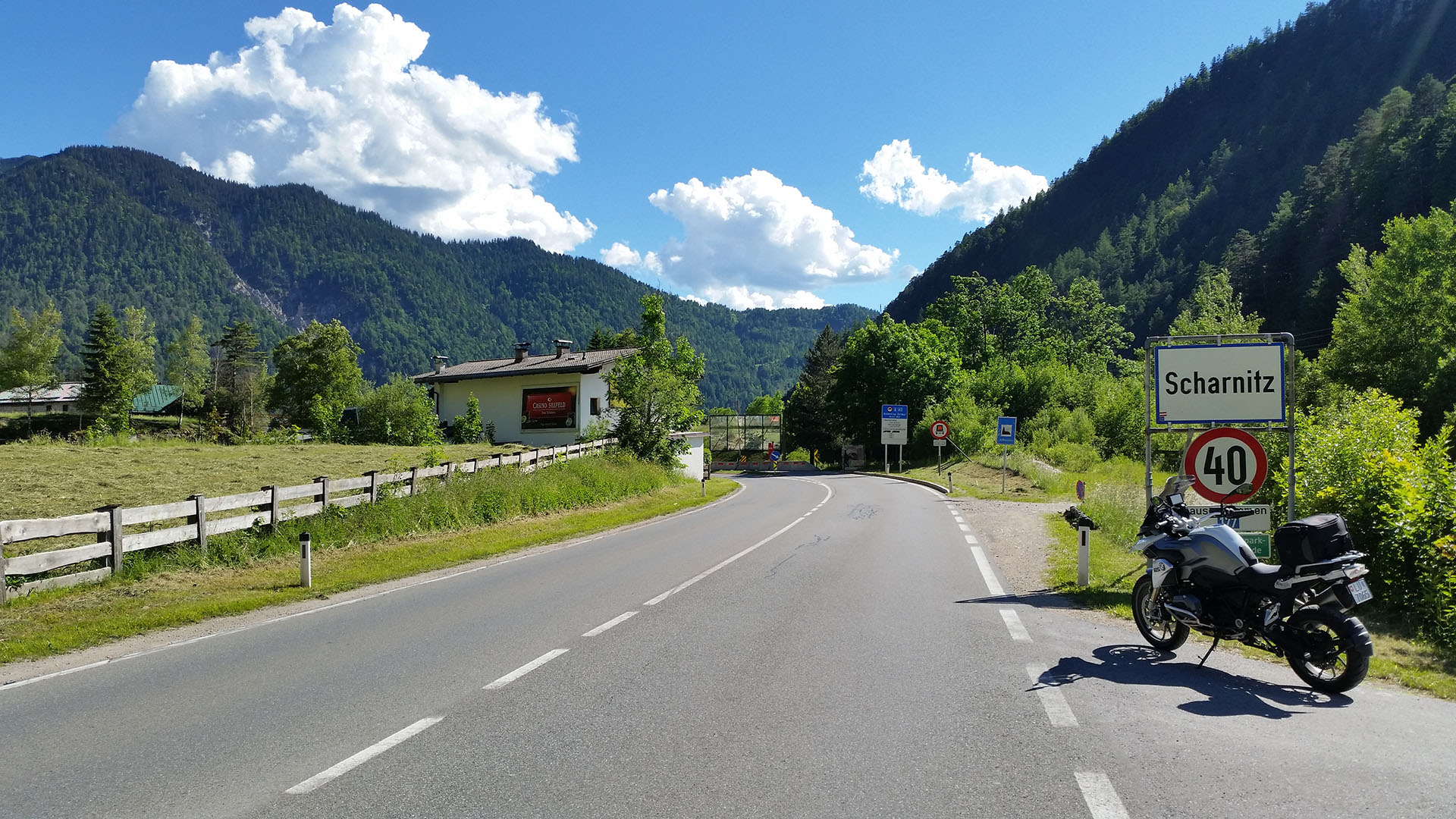 0958 - A-D - Scharnitz-Pass