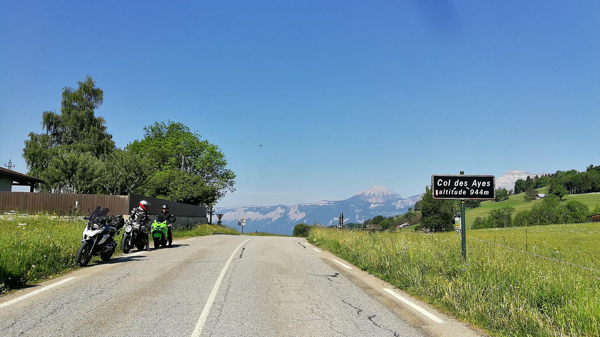 0944 - F - Col des Ayes