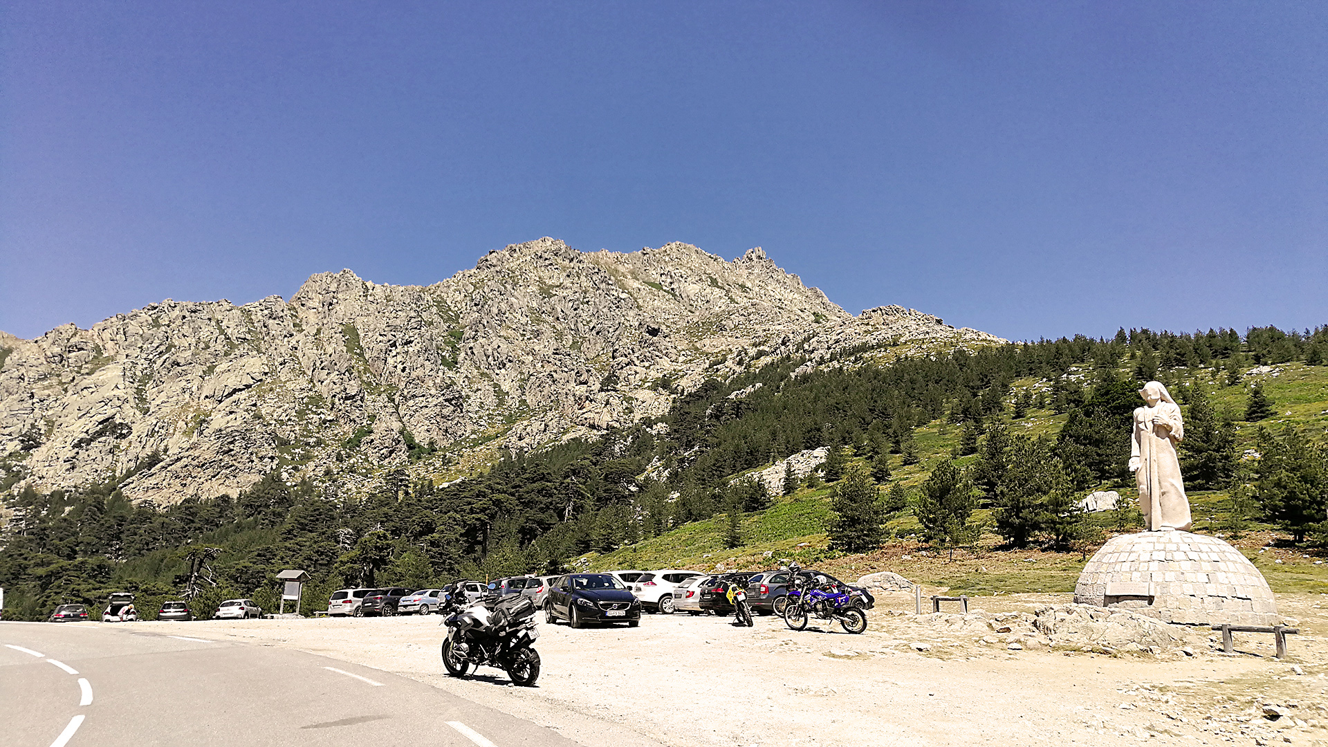 1467 - F (Corse) - Col de Vergio (Bocca di Verghju)
