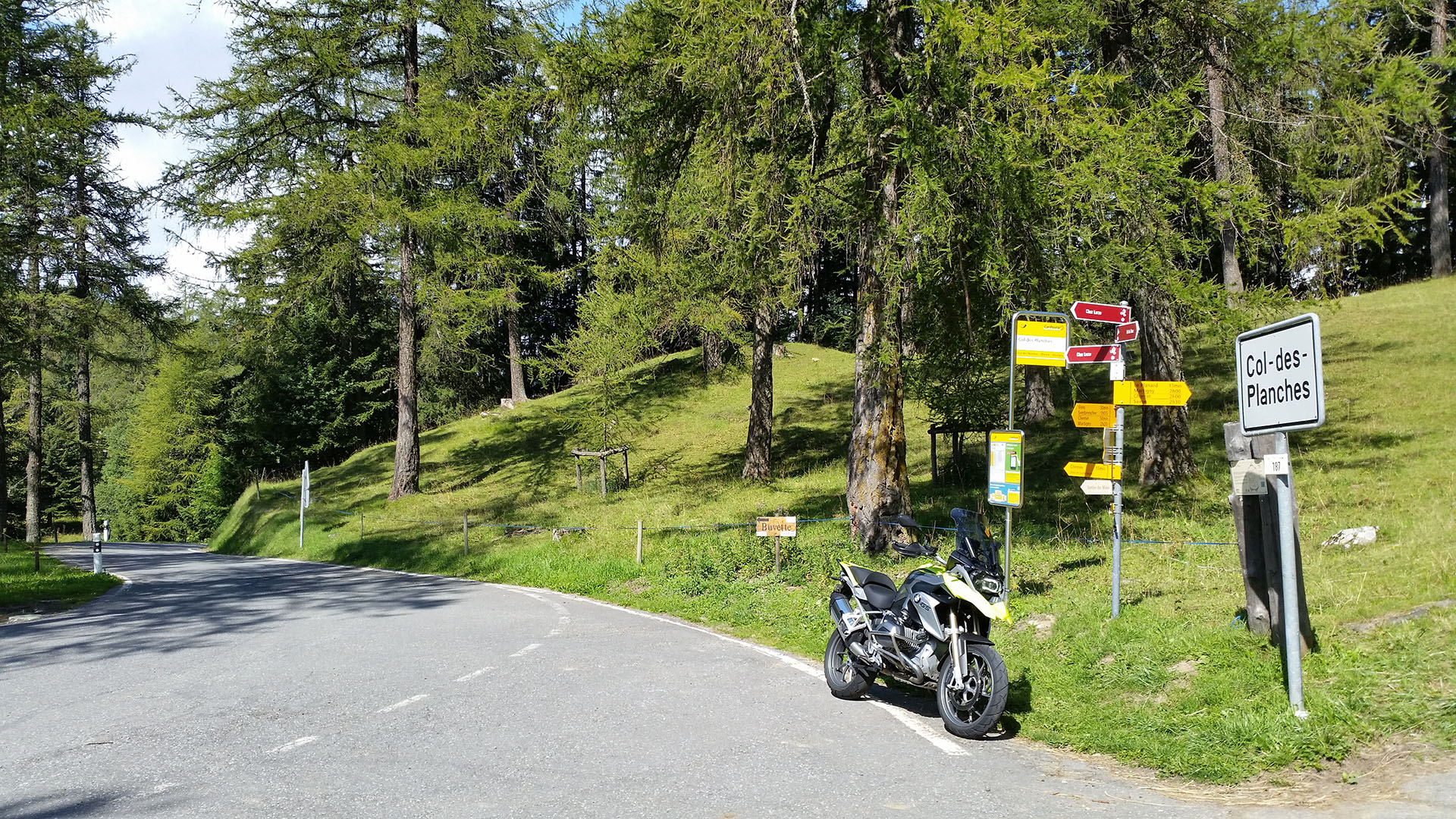 1411 - CH - Col des Planches