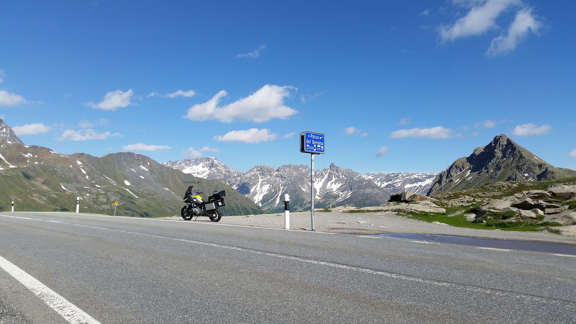 2330 - CH - Bernina-Pass (Passo del Bernina)