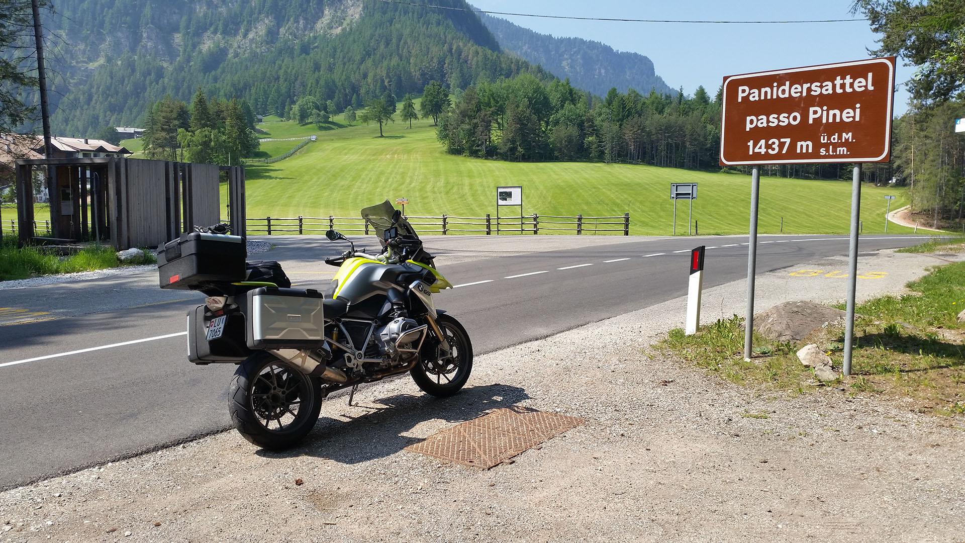 1437 - I - Panidersattel (Passo Pinei)