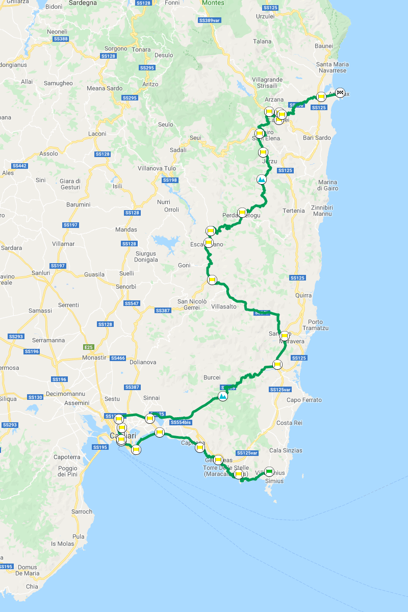 karte-sardegna-quattro-giorni-3-villasimius-arbatax-242-km-paesse-info-google-maps