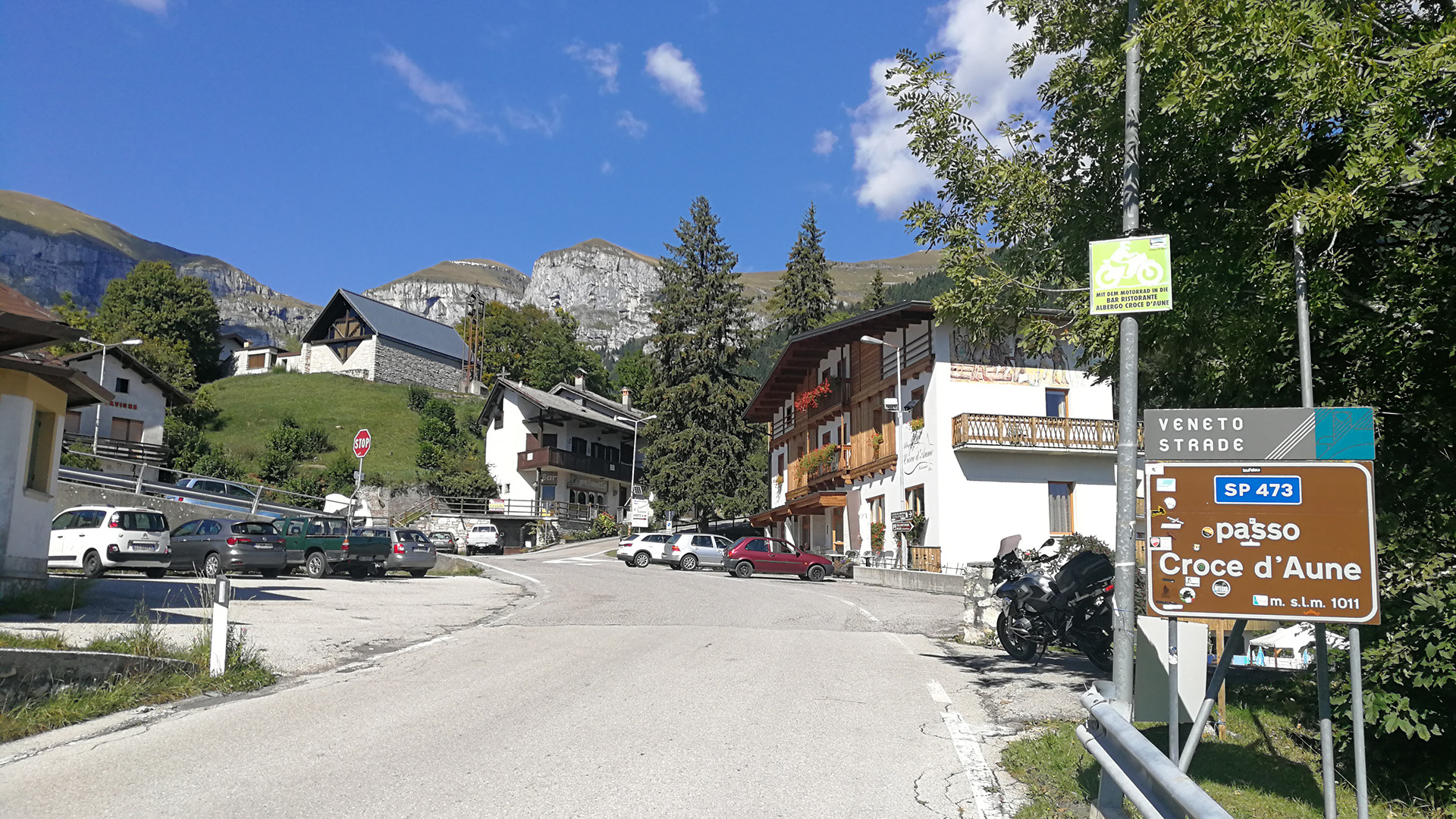 1011 - I - Passo Croce d'Aune