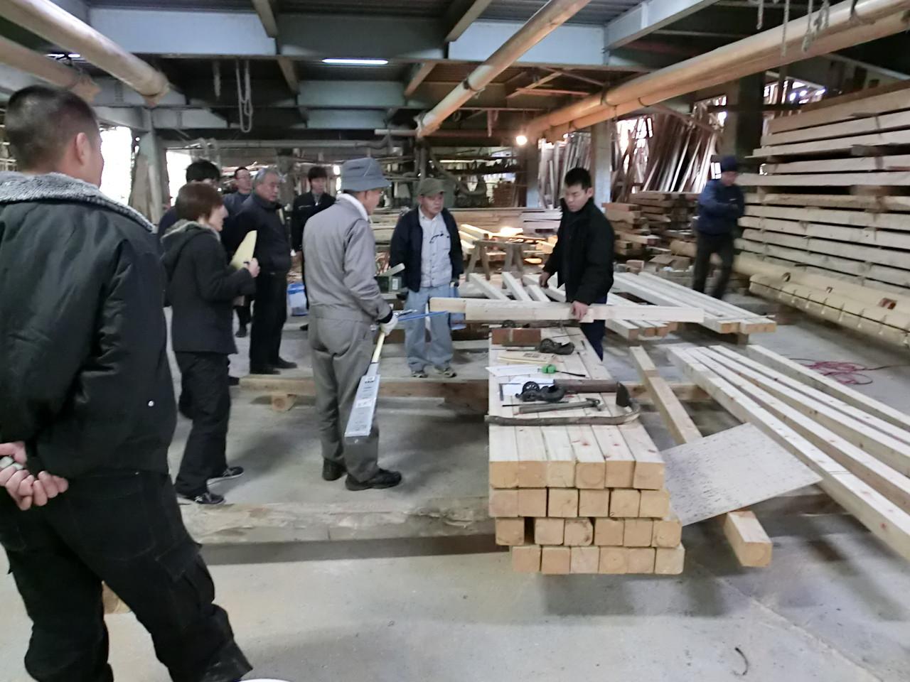 伝統的木造建築工法実習会  (有限会社西畑建設)
