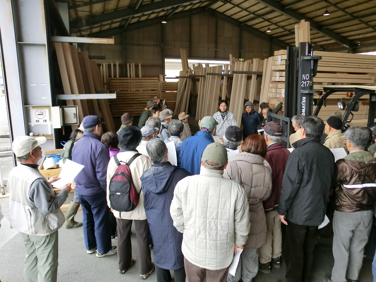 木材加工と木造建築の基礎実習
