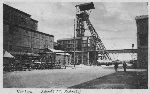 Zechenhof und Schacht 4
