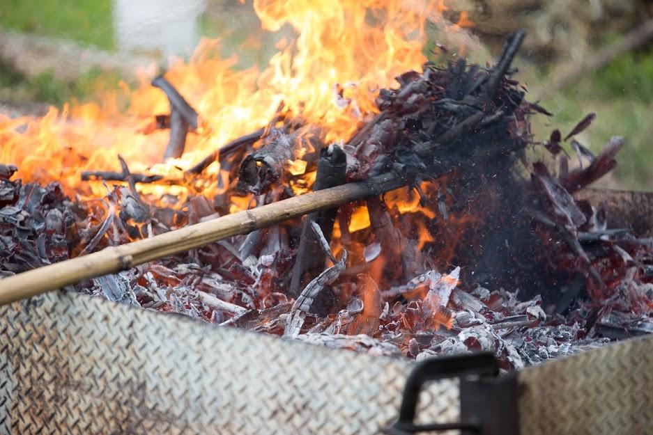 8月の竹炭イベントのお知らせ