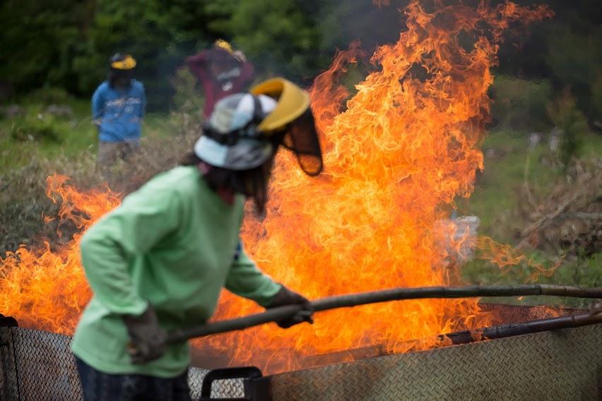 9月の竹炭イベントのお知らせ