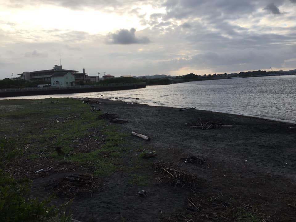 9月の海岸竹炭イベント報告