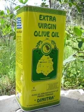 Dimitra griekse olijfolie