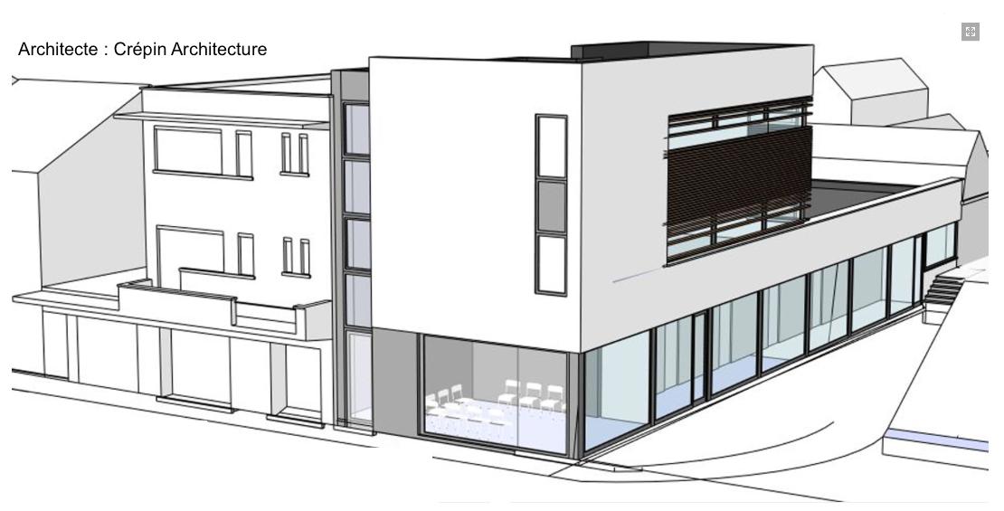 Immeuble de bureaux - CHU Ambroise Paré à Mons : Techniques spéciales et Coordination Sécurité Santé