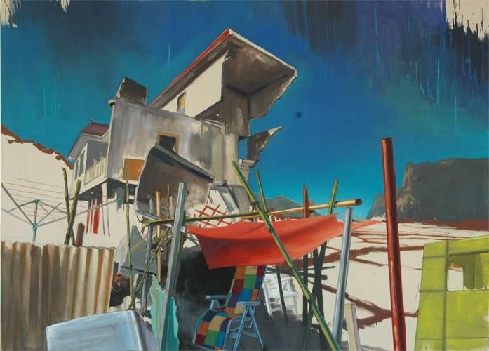 Schueco, Öl auf Leinwand, 160x120cm, 2008