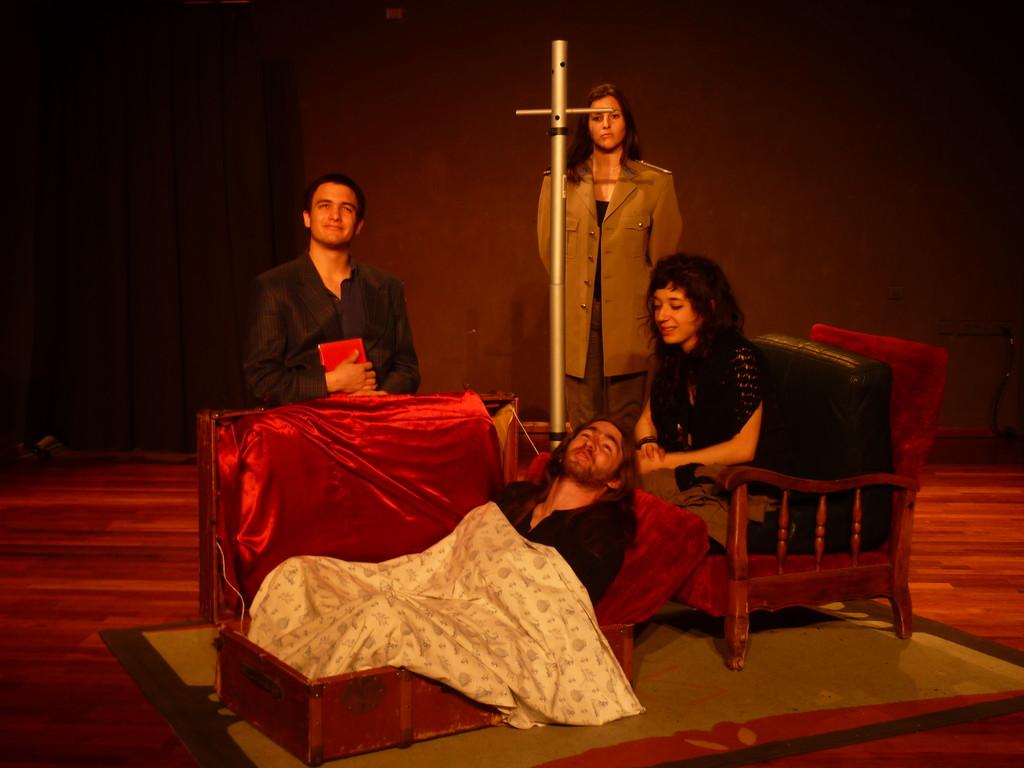 Avril 2011. Atelier Grand Peur et Misère... de Brecht / Conservatoire de Nice