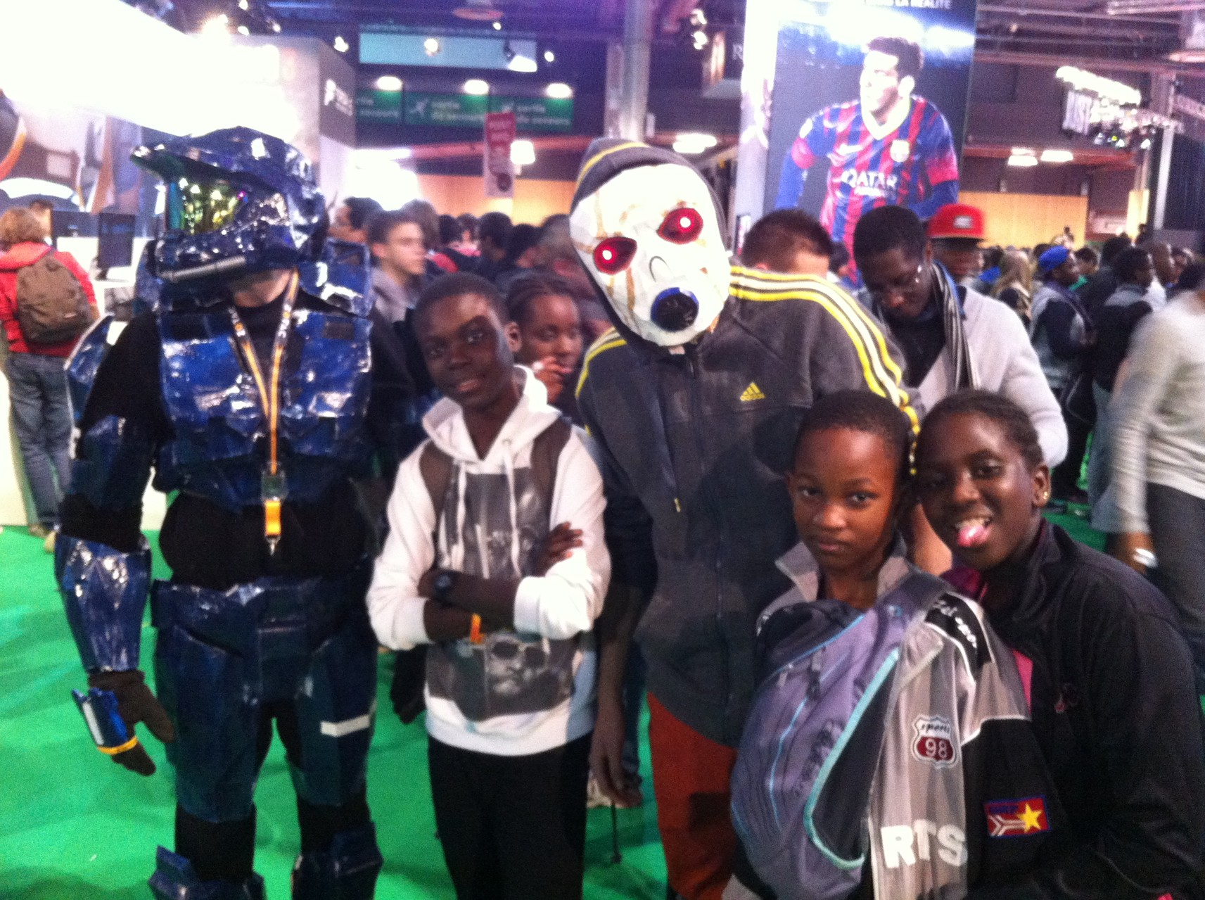 Visite au Paris Games Week
