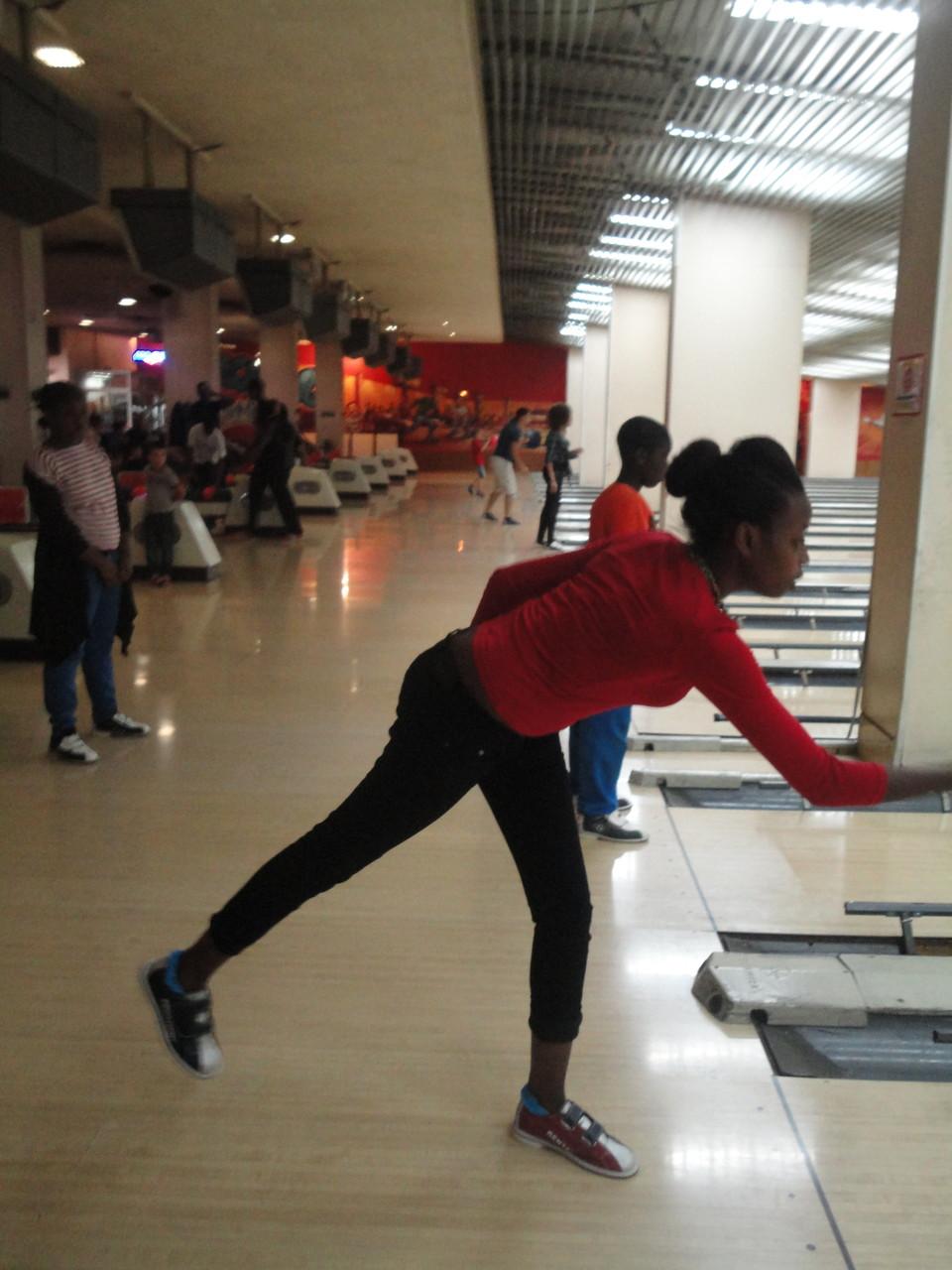 Après-midi au bowling
