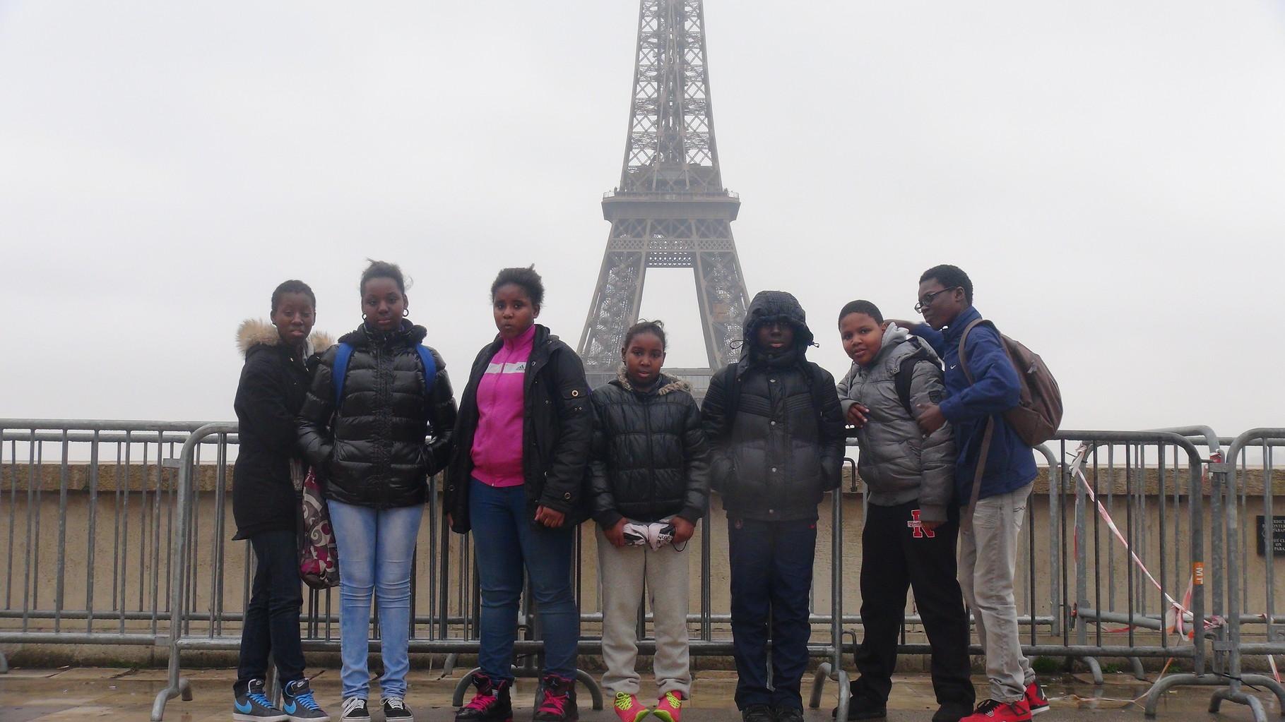 Photo-souvenir au Trocadéro