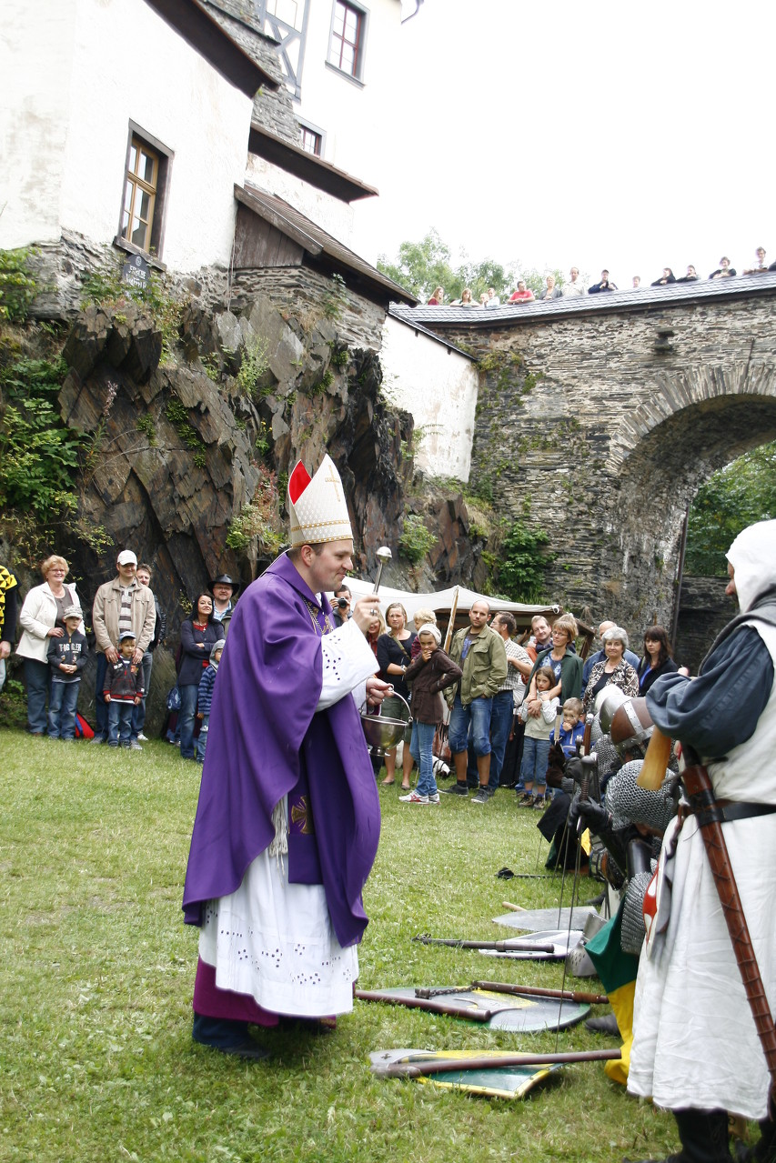Mittelalterspektakel auf Schloss Burgk