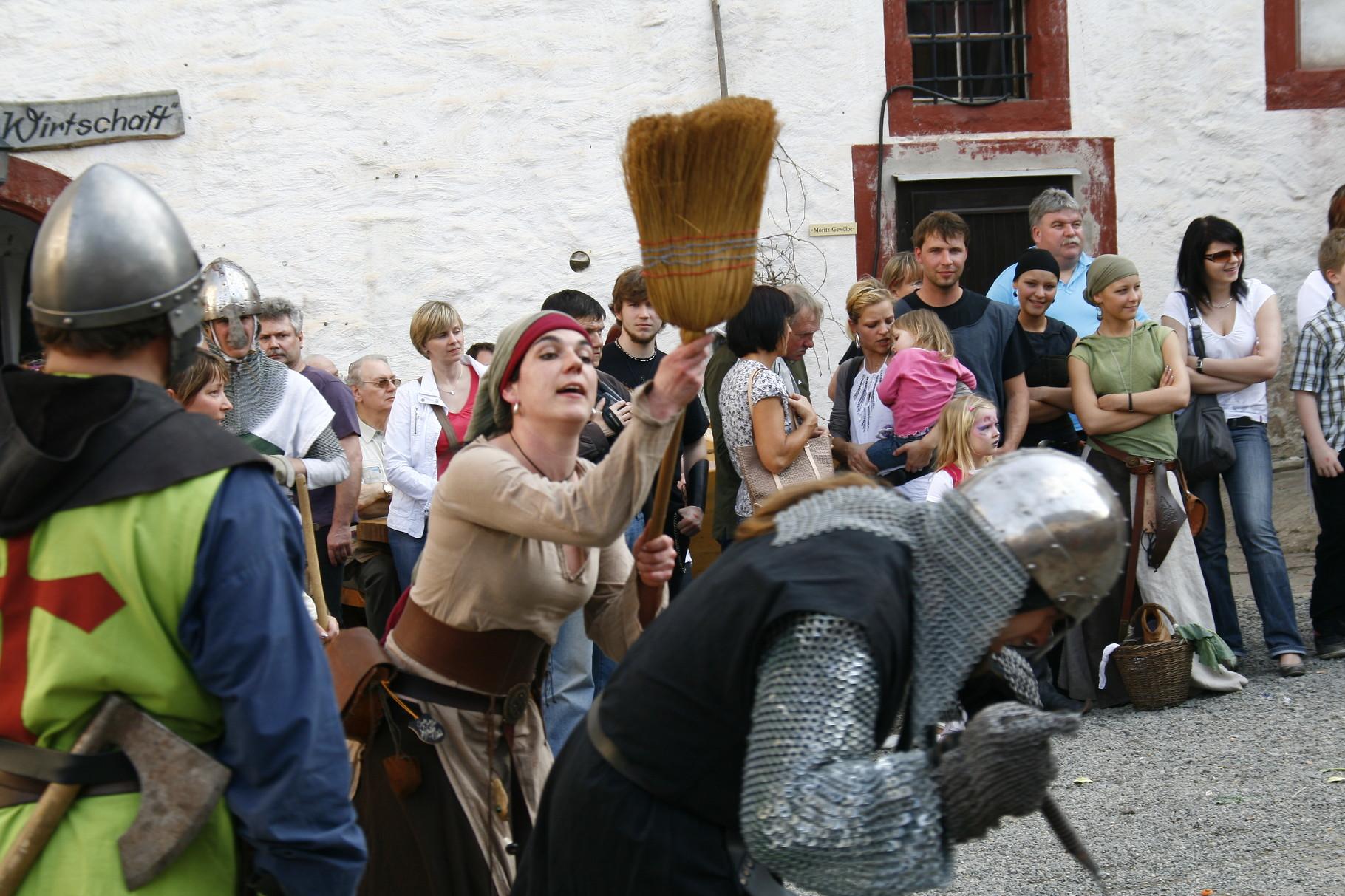 Mittelalterspektakel auf der Osterburg