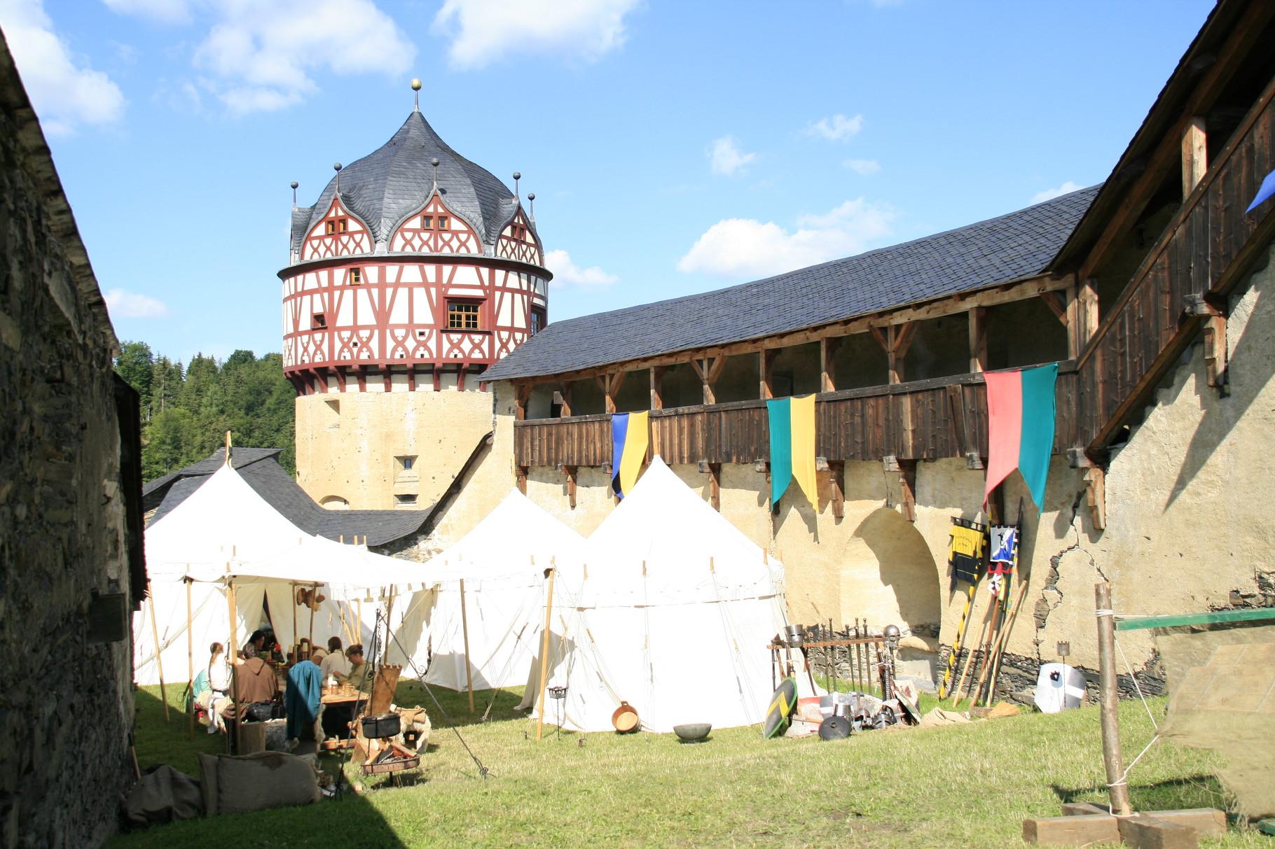 Mittelalterspektakel Schloss Burgk