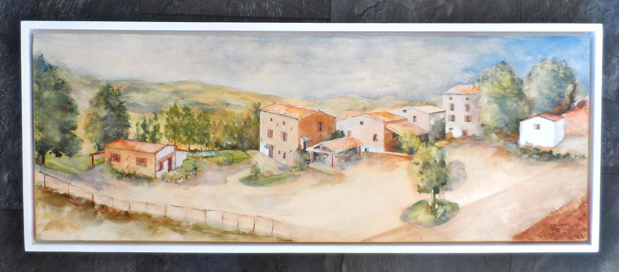 aquarell - agriturismo vecchia quercia pergola - marken