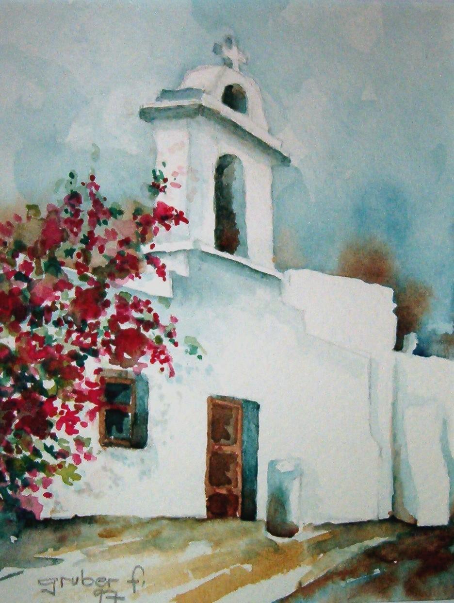 aquarell - griechische impressionen kreta