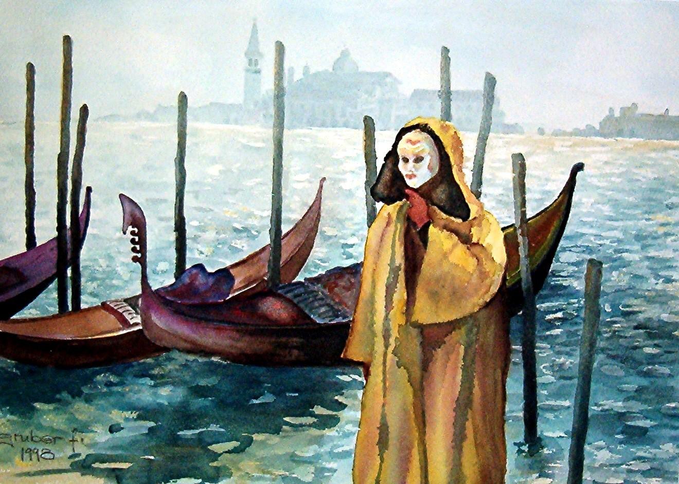 aquarell - impressionen venedig