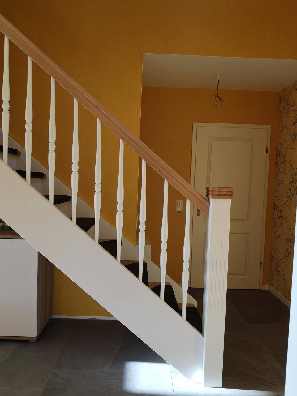 In welchem Neubau finden Sie noch solch eine Treppe?