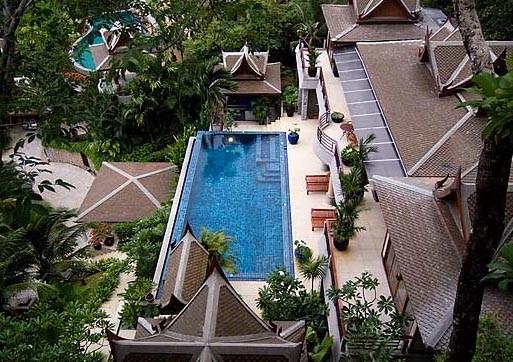 Phuket/Surin: 5-SZ Poolvilla mit Meerblick