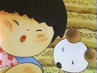 「まんが日本昔ばなし」「そんぶつのかみなりさま」より