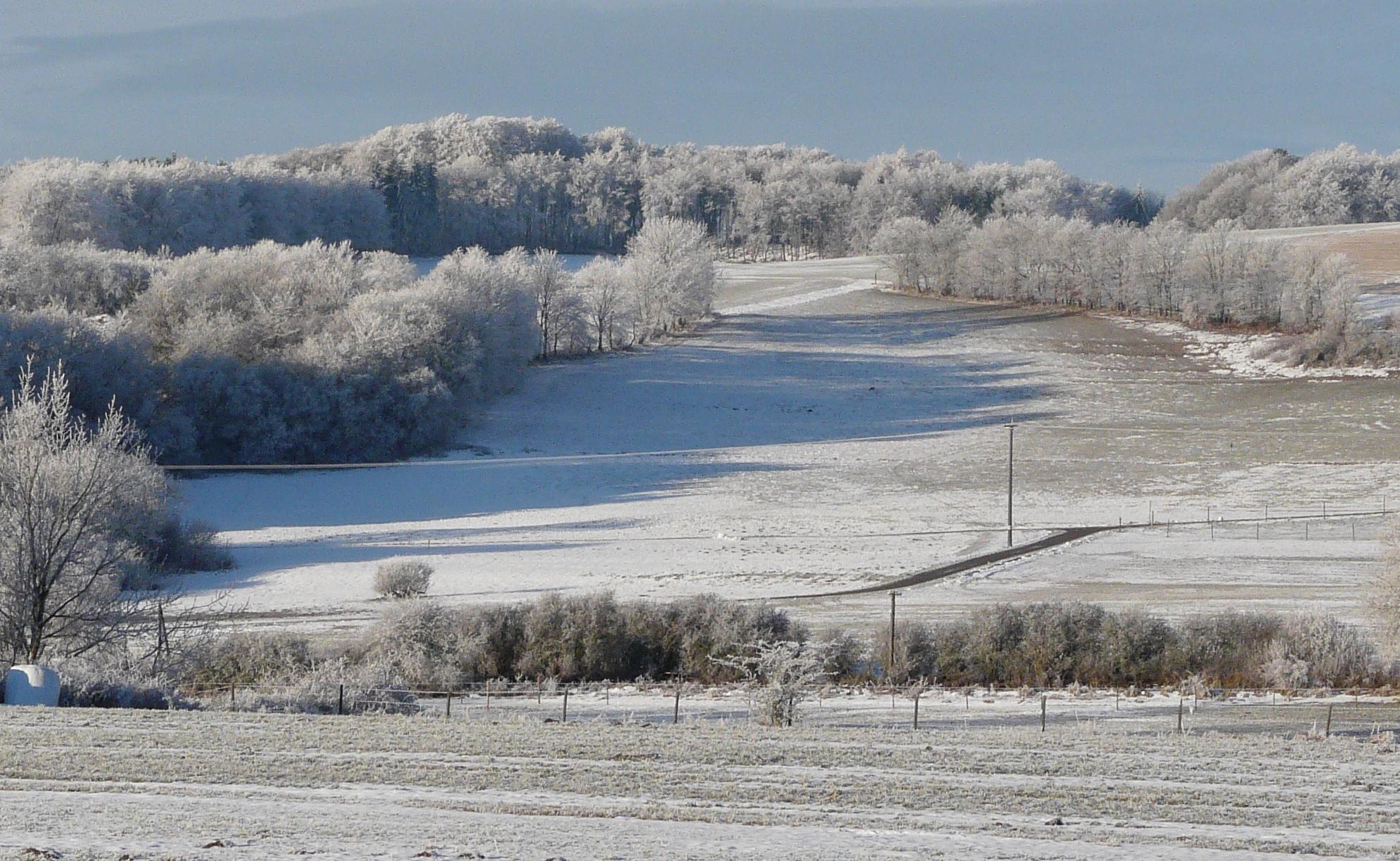 Winterlandschaft bei Betteldorf