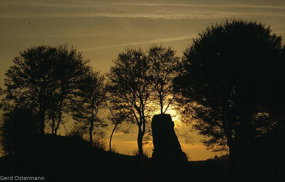 Kalkfelsen bei Berndorf