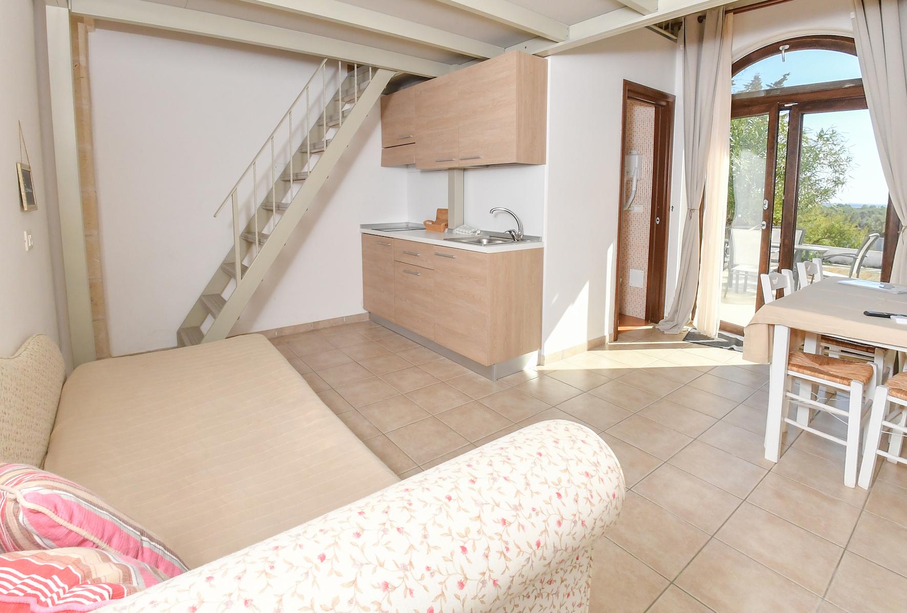 Lecce 5 - Wohnzimmer und Küche